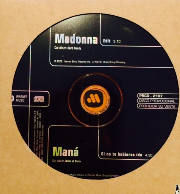 4 MINUTES CD SAMPLER ARGENTINA / MADONNA - CD - DISQUES - RECORDS -  BOUTIQUE VINYLES