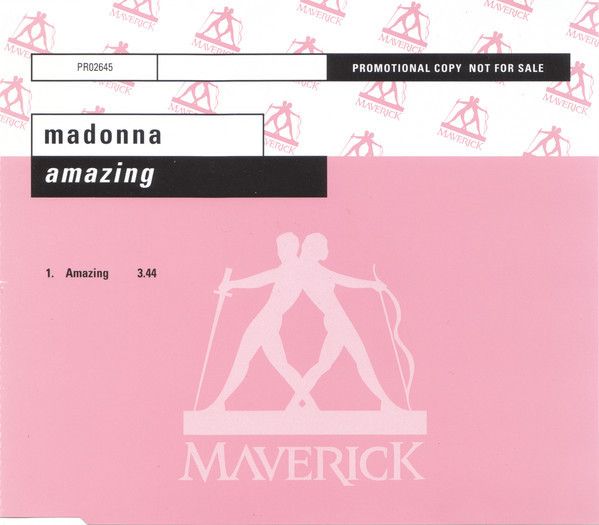 AMAZING / CDS SAMPLER GERMANY / MADONNA-CD-DISQUES-RECORDS-BOUTIQUE VINYLES-SHOP-STORE-COLLECTORS