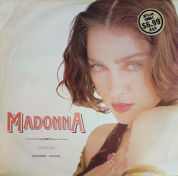 CHERISH  MAXI 45T AUSTRALIA /  MADONNA-CD-DISQUES-RECORDS-BOUTIQUE VINYLES-SHOP-COLLECTORS-