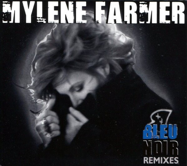 BLEU NOIR CD MAXI / MYLENE FARMER - RECORDS - DISQUES - VINYLES - CD - SHOP