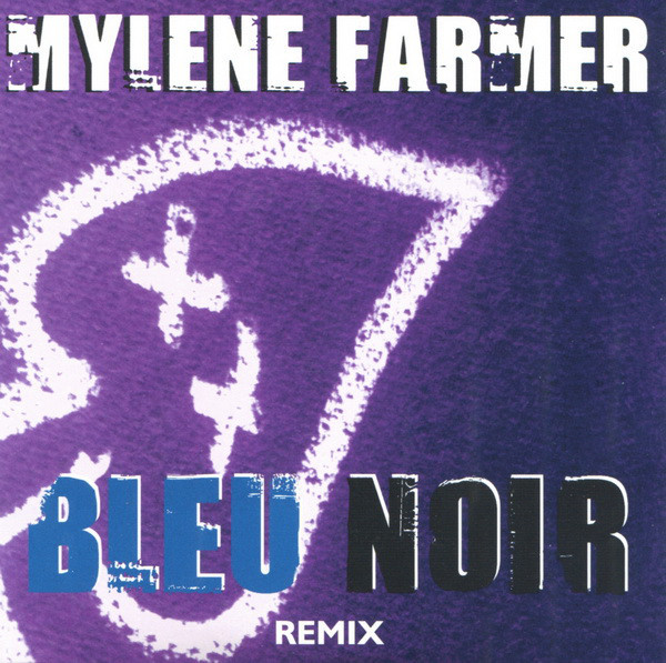 BLEU NOIR  CD  SAMPLER   / MYLENE FARMER - RECORDS - DISQUES - VINYLES - CD - SHOP-BOUTIQUE