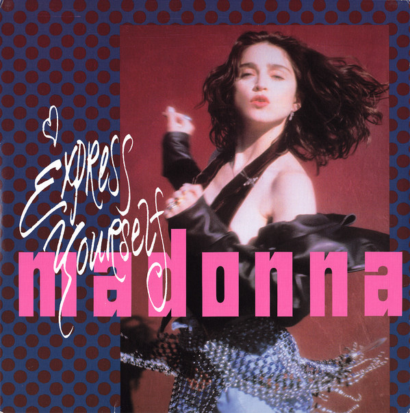 EXPRESS YOURSELF  MAXI 45T BRESIL SAMPLER / MADONNA - CD - DISQUES - RECORDS -  BOUTIQUE VINYLES
