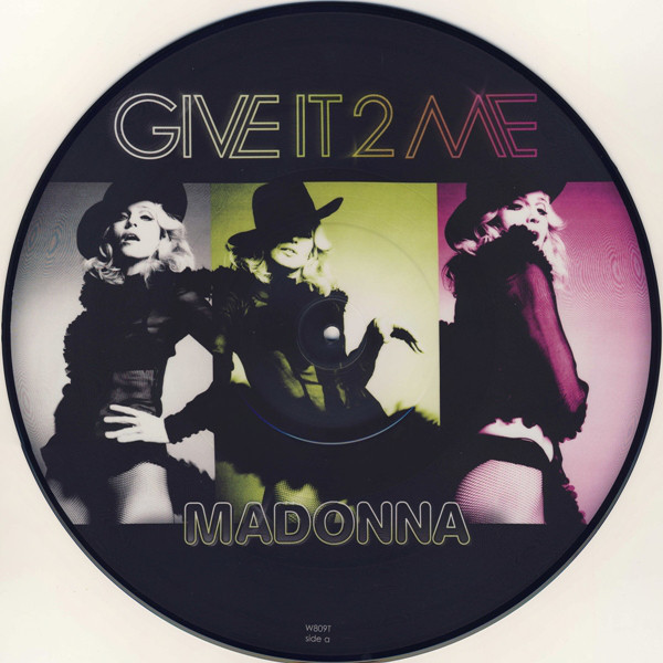 GIVE IT TO ME PICTURE DISC UK  / MADONNA - CD - DISQUES - RECORDS -  BOUTIQUE VINYLES