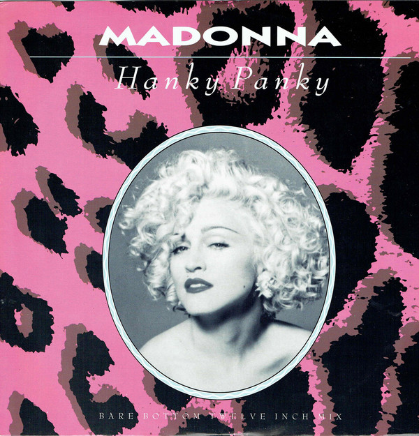 HANKY PANKY  MAXI 45T UK  / MADONNA - CD - DISQUES - RECORDS -  BOUTIQUE VINYLES