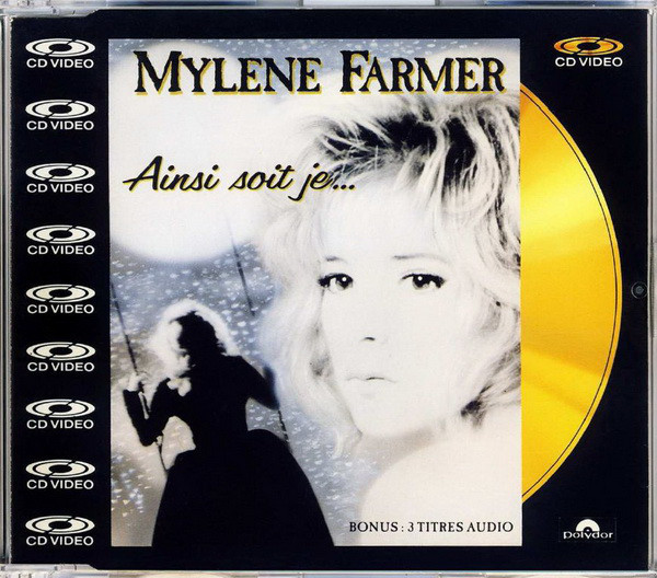 AINSI SOIT JE  / CD VIDEO /  MYLENE FARMER - RECORDS - DISQUES - VINYLES - CD - SHOP -BOUTIQUE