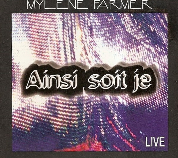 AINSI SOIT JE LIVE  / CD SAMPLER 1 TITRE / MYLENE FARMER - RECORDS - DISQUES - VINYLES - CD - SHOP -