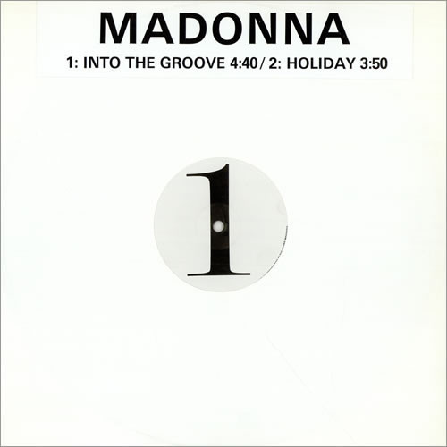 INTO THE GROOVE/  HOLIDAY MAXI 45T SAMPLER UK   / MADONNA - CD - DISQUES - RECORDS -   VINYLES