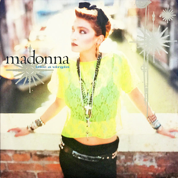 LIKE A VIRGIN MAXI 45T PORTUGAL / MADONNA - CD - DISQUES - RECORDS -  BOUTIQUE VINYLES