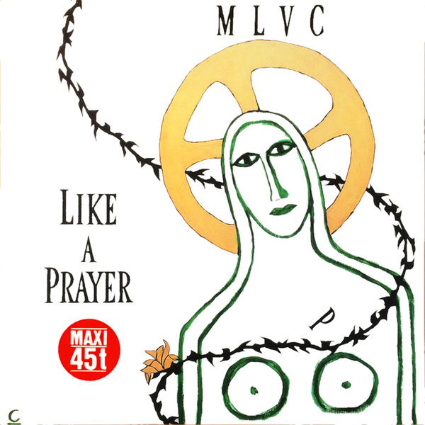 LIKE A PRAYER  MAXI 45T  FRANCE / MADONNA - CD - DISQUES - RECORDS -  BOUTIQUE VINYLES