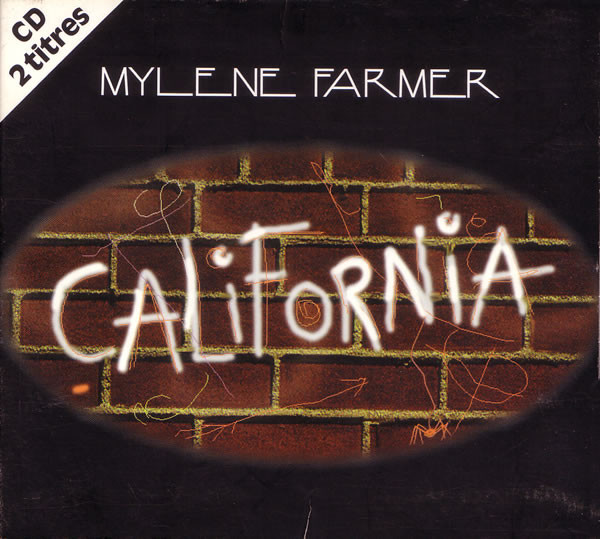 CALIFORNIA  CD SINGLE LIMITE FRANCE / MYLENE FARMER - RECORDS - DISQUES - VINYLES - CD - SHOP