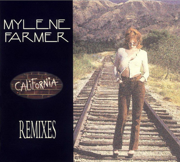 CALIFORNIA  CD MAXI FRANCE / MYLENE FARMER - RECORDS - DISQUES - VINYLES - CD - SHOP