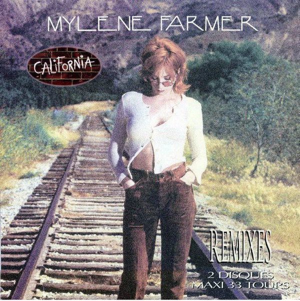 CALIFORNIA MAXI 45T 2018/ MYLENE FARMER - RECORDS - DISQUES - VINYLES - CD - SHOP