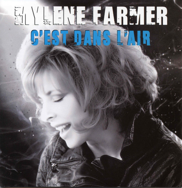 C'EST DANS L 'AIR CD SINGLE  / MYLENE FARMER - RECORDS - DISQUES - VINYLES - CD - SHOP