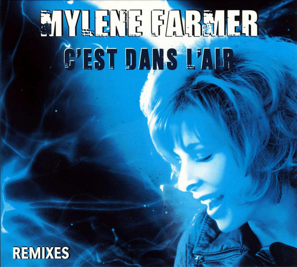C'EST DANS L 'AIR CD MAXI 2 / MYLENE FARMER - RECORDS - DISQUES - VINYLES - CD - SHOP