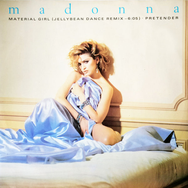 MATERIAL GIRL  MAXI 45T  UK / MADONNA - CD - DISQUES - RECORDS -  BOUTIQUE VINYLES