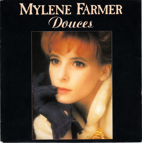 DOUCES 45T HOLLANDE+ BIO PROMO / MYLENE FARMER - RECORDS - DISQUES - VINYLES - CD - SHOP