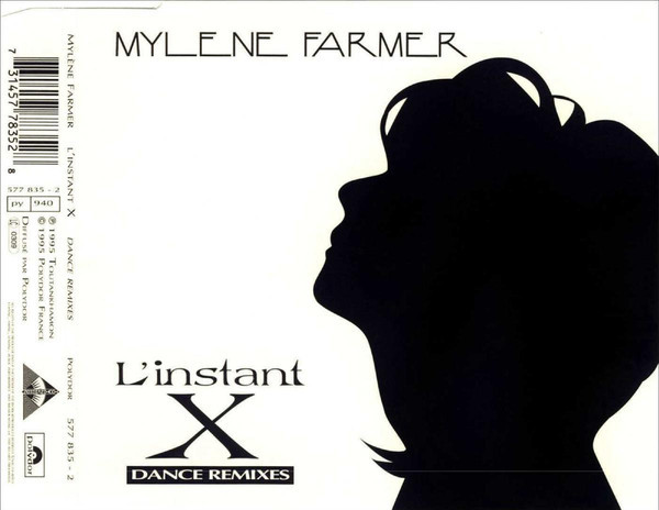 L'INSTANT X CD MAXI  /   MYLENE FARMER - RECORDS - DISQUES - VINYLES - SHOP- BOUTIQUE