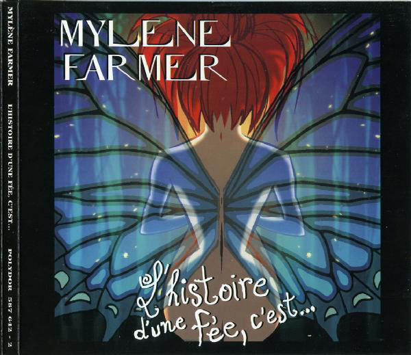 l HISTOIRE D UNE FEE CD SINGLE  /   MYLENE FARMER - RECORDS - DISQUES - VINYLES - SHOP- BOUTIQUE