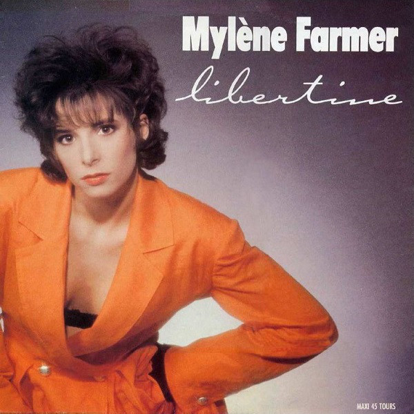 LIBERTINE  MAXI 45T 1ERE PRESS /   MYLENE FARMER - RECORDS - DISQUES - VINYLES - SHOP-