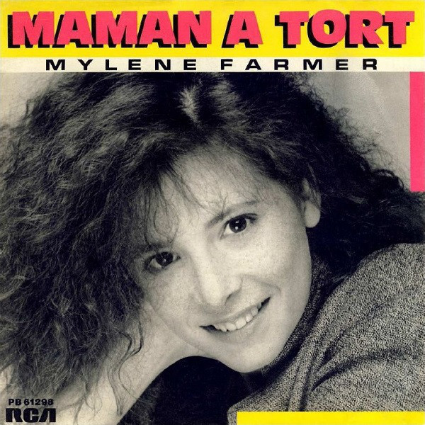 MAMAN A TORT 7 INCHES 2ND PRESS/ MYLENE FARMER - RECORDS - DISQUES - VINYLES - CD - SHOP