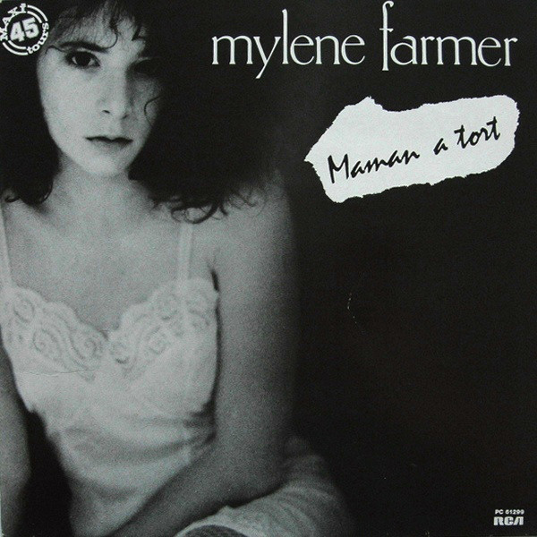 MAMAN A TORT 12 INCHES  1ER PRESS/ MYLENE FARMER - RECORDS - DISQUES - VINYLES - CD - SHOP
