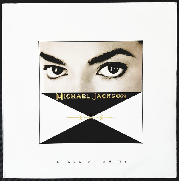 BLACK OR WHITE MAXI 45T MEXICO /  MICHAEL JACKSON- CD - DISQUES - RECORDS -  BOUTIQUE VINYLES
