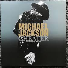 CHEATER  12 INCHES MAXI SAMPLER UK   / MICHAEL JACKSON  - CD - RECORDS -  BOUTIQUE VINYLES