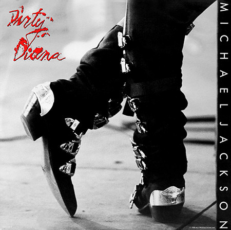 DIRTY DIANA  12 INCHES MAXI UK / MICHAEL JACKSON  - CD - RECORDS -  BOUTIQUE VINYLES