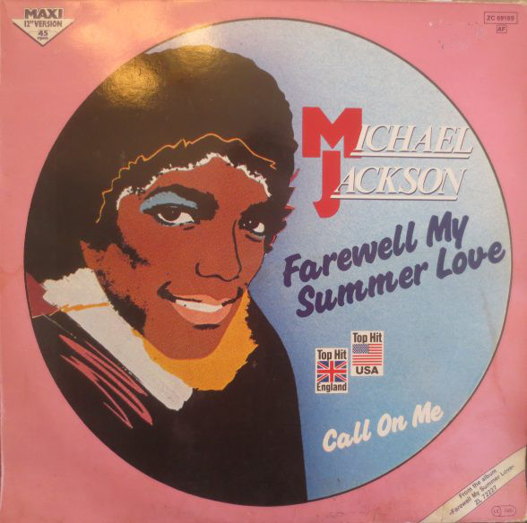 FAREWELL MY SUMMER LOVE 12 ' MAXI  GERMANY  / MICHAEL JACKSON  - CD - RECORDS -  BOUTIQUE VINYLES