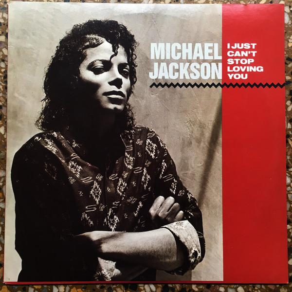 I JUST CAN'T STOP LOVING YOU  MAXI  45T GRECE / MICHAEL JACKSON-CD-DISQUES-RECORDS-VINYLES