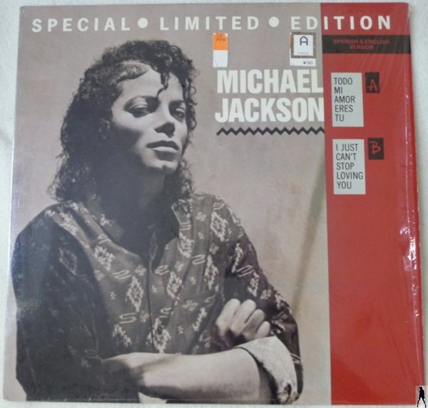 I JUST CAN'T STOP LOVING YOU 12 MAXI USA / MICHAEL JACKSON  - CD - RECORDS -  BOUTIQUE VINYLES