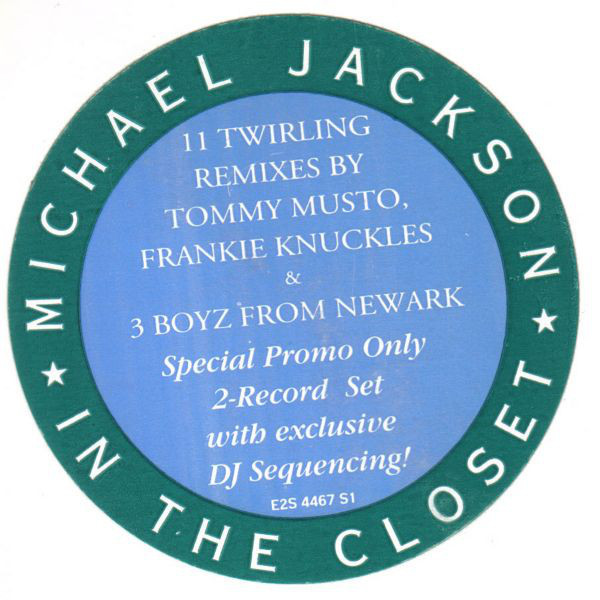 IN THE CLOSET  MAXISAMPLER  USA / MICHAEL JACKSON  - CD - RECORDS -  BOUTIQUE VINYLES