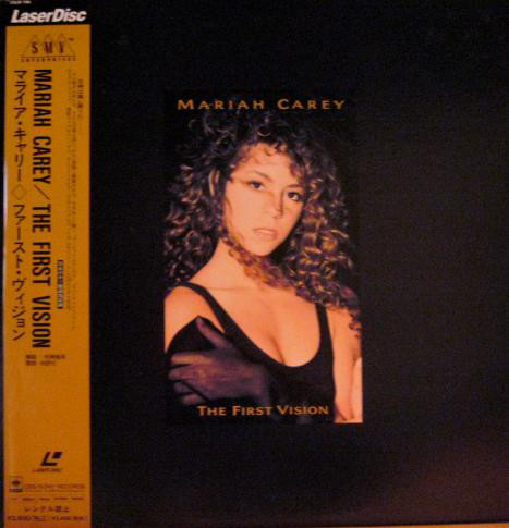 THE FIRST VISION LASER DISC JAPAN / MARIAH CAREY  - CD - RECORDS -  BOUTIQUE VINYLES