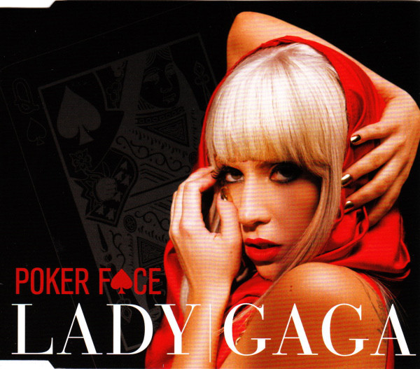 POKER FACE CD MAXI AUSTRALIA / LADY GAGA  - CD - RECORDS -  BOUTIQUE VINYLES