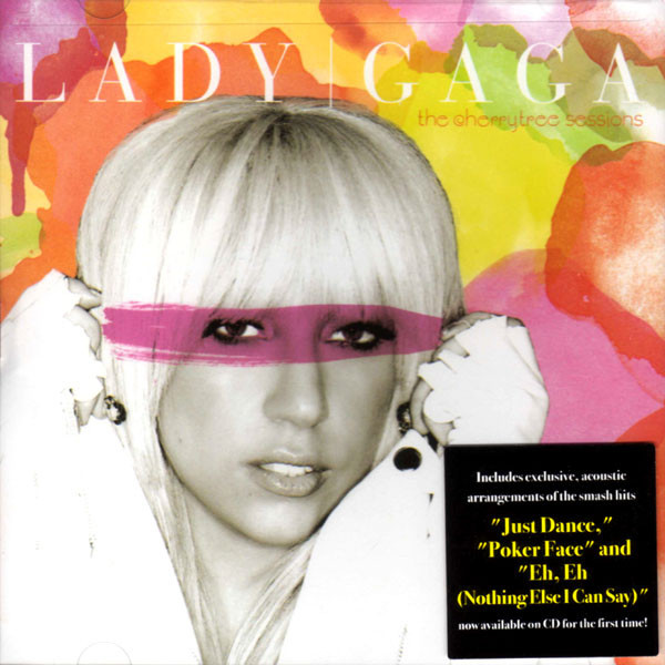 THE CHERRYTREE SESSIONS CD MAXI USA / LADY GAGA  - CD - RECORDS -  BOUTIQUE VINYLES
