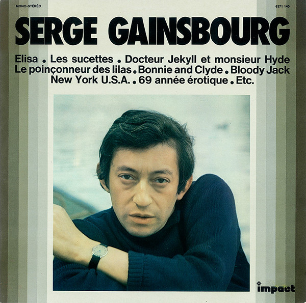 COMPILATION SERGE GAINSBOURG  LP/ GAINBSOURG-CD-DISQUES-RECORDS-VINYLS-MUSICSHOP-COLLECTORS