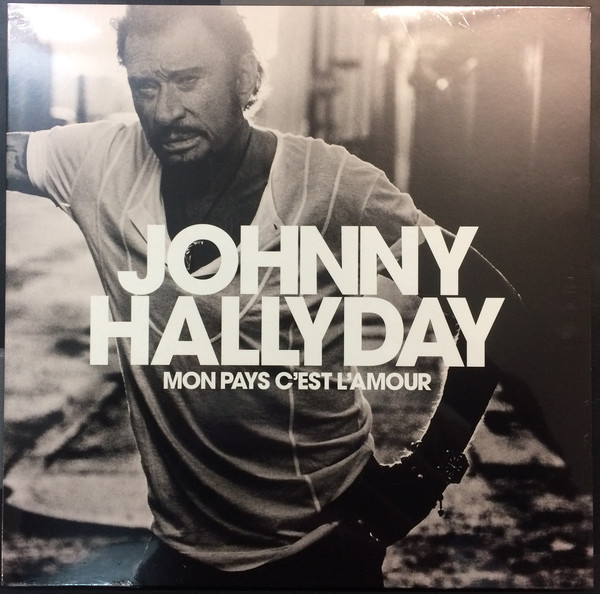 MON PAYS C'EST  L'AMOUR 33T BLANC  / JOHNNY HALLYDAY-CD-DISQUES-RECORDS-BOUTIQUE VINYLES-RECORDS