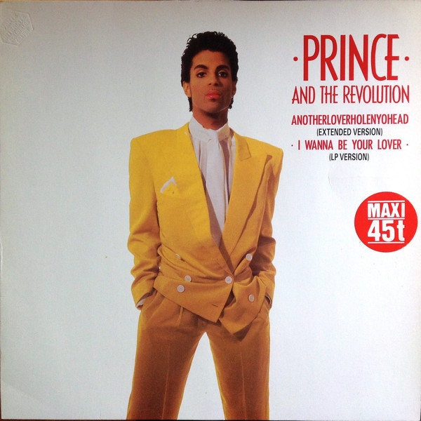 ANOTHERLOVERHOLENYOHEAD MAXI 45T GERMANY / PRINCE-CD-DISQUES-RECORDS-BOUTIQUE VINYLES-RECORDS