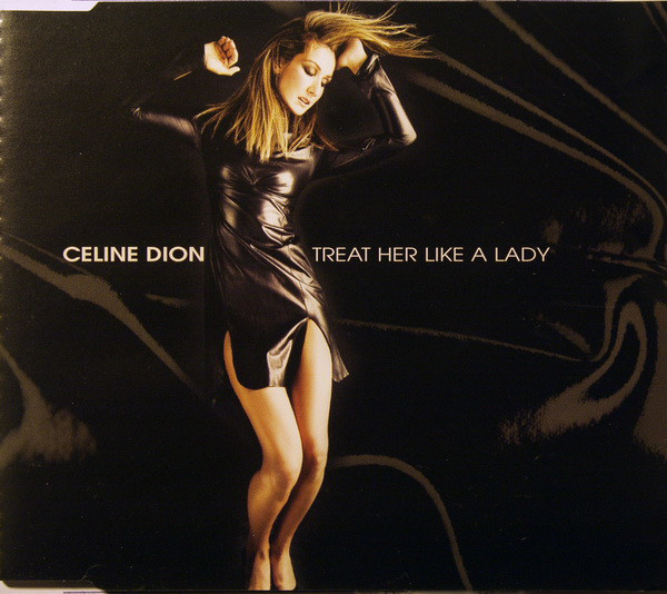 TREAT LIKE A LADY CD MAXI AFRIQUE DU SUD /CELINE DION-CD-DISQUES-RECORDS-BOUTIQUE VINYLES-COLLECTORS