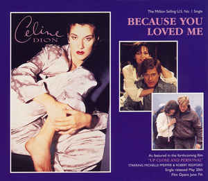 BECAUSE YOU LOVED ME CD SAMPLER UK/  CELINE DION-CD-DISQUES-BOUTIQUE VINYLES-RECORDS-COLLECTORS