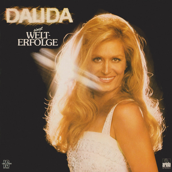 SINGT WELT-ERFLOGE 33T ALLEMAGNE  /  DALIDA - CD - DISQUES - RECORDS -  BOUTIQUE VINYLES-RECORDS