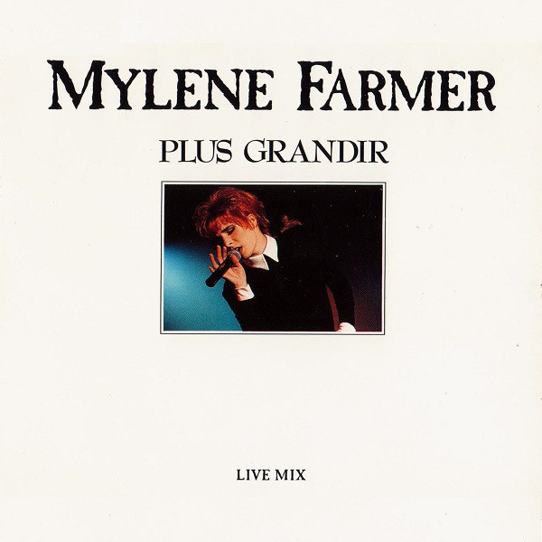 PLUS GRANDIR CD MAXI / MYLENE FARMER - RECORDS - DISQUES - VINYLES - SHOP-COLLECTORS