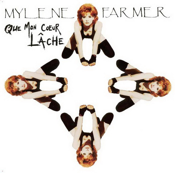 QUE MON COEUR LACHE 45 T   / MYLENE FARMER-RECORDS-DISQUES-VINYLES-CD- SHOP-COLLECTORS