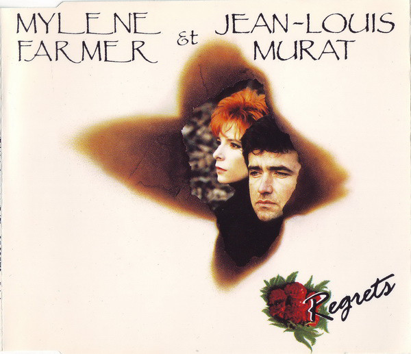 REGRETS CD MAXI  / MYLENE FARMER-RECORDS-DISQUES-VINYLES-CD- SHOP-COLLECTORS