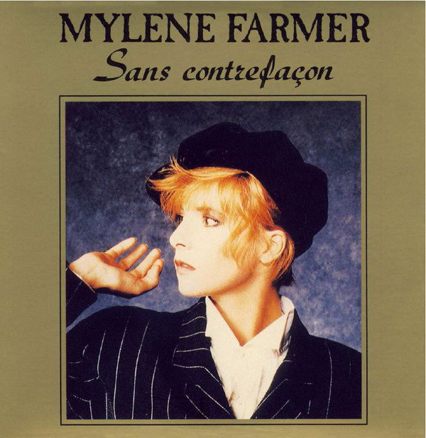 SANS CONTREFACON 45T  FRANCE / MYLENE FARMER-RECORDS-DISQUES-VINYLES-CD- SHOP-