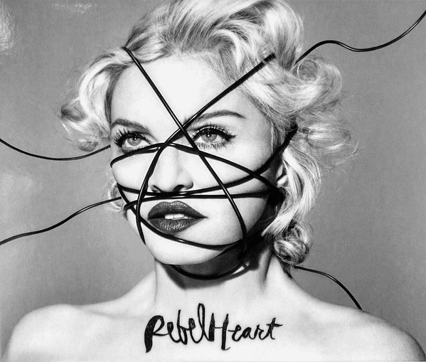 REBEL HEART CD SAMPLER FRANCE 2 CD / MADONNA -CD-DISQUES- RECORDS-BOUTIQUE VINYLES-SHOP-