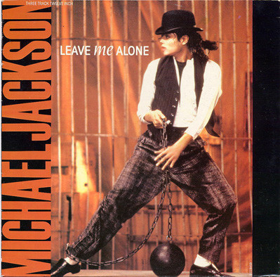 LEAVE ME ALONE 12 INCHES MAXI  GREECE / MICHAEL JACKSON  - CD - RECORDS -  BOUTIQUE VINYLES
