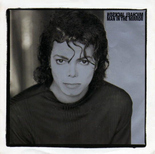 MAN IN THE MIROR 12 INCHES MAXI  SAMPLER BRAZIL/ MICHAEL JACKSON  - CD - RECORDS -  BOUTIQUE VINYLES