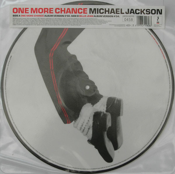 ONE MORE CHANCE PICTURE DISC UK NUMBERED/ MICHAEL JACKSON  - CD - RECORDS -  BOUTIQUE VINYLES