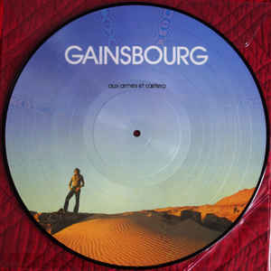 AUX ARMES ETC ..LP PICTURE DISC LIMITED/ GAINSBOURG-CD-DISQUES-RECORDS-VINYLS-MUSICSHOP-COLLECTORS